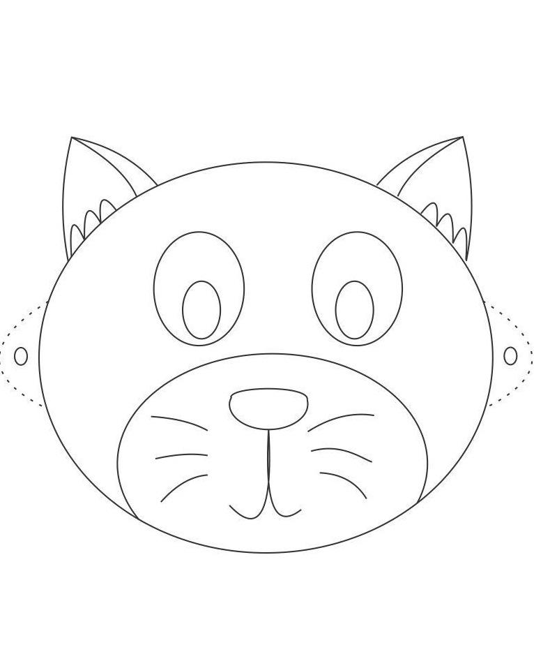 Голова кота своими руками 19