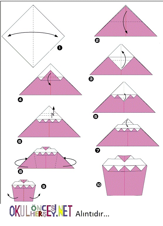 Торт из бумаги своими руками оригами